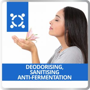 Deodorising – Sanitising – Anti-Fermentation