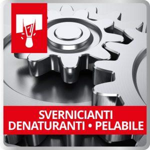 Svernicianti - Denaturanti - Pelabile