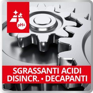 Sgrassanti Acidi - Disincr. - Decapanti