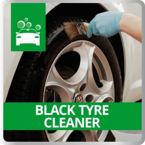 Black tyre Cleaner