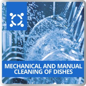 Mechanical And Manual Cleaning Of Dishes