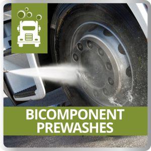 Bicomponent Prewashes